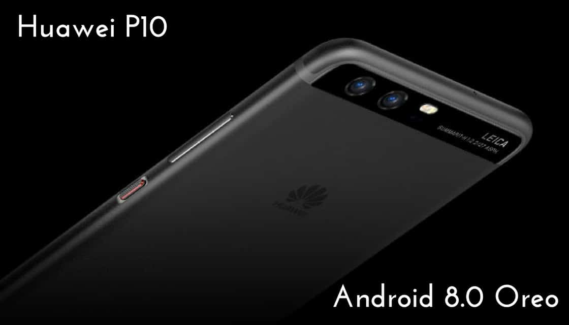 Android 8.0 Oreo on Huawei P10