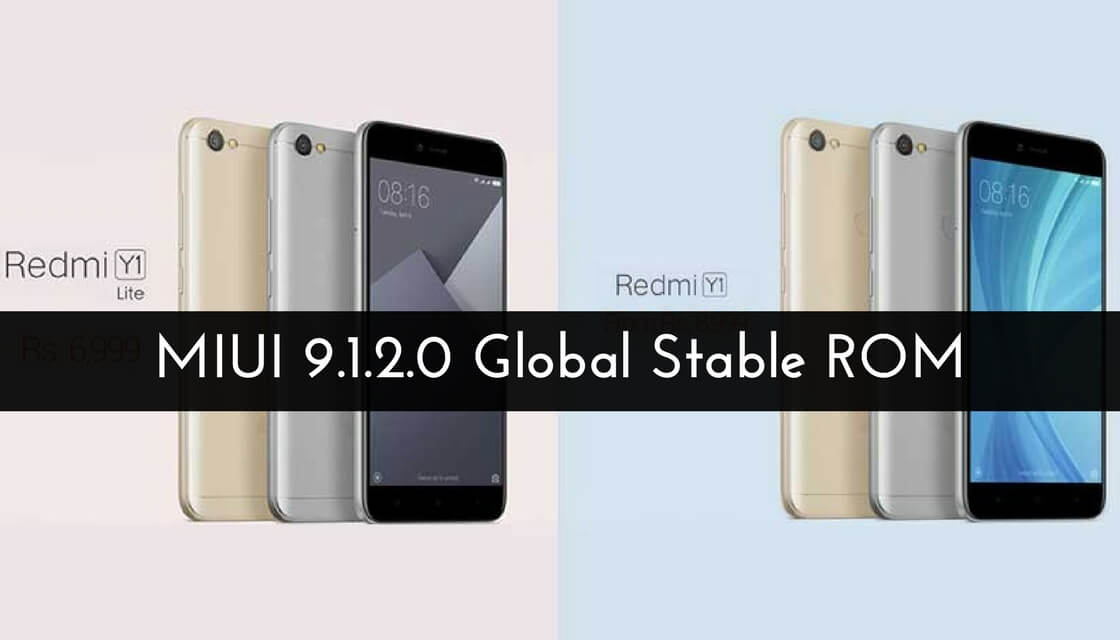 MIUI 9.1.2.0 Global Stable ROM