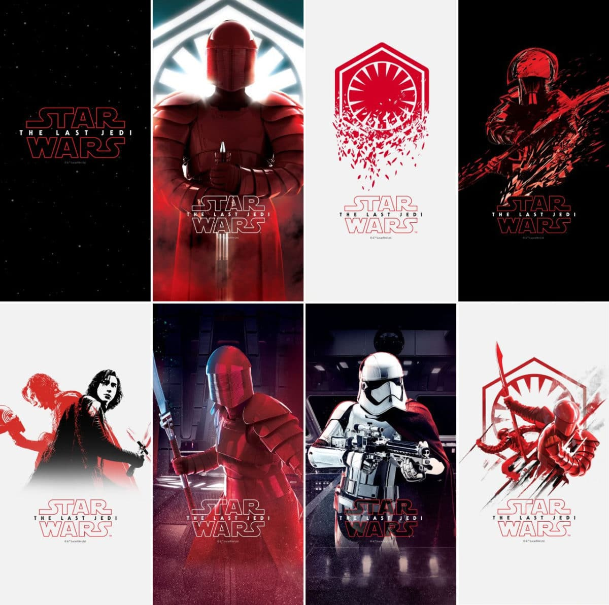 Download OnePlus 5T Star Wars Edition Stock Wallpapers