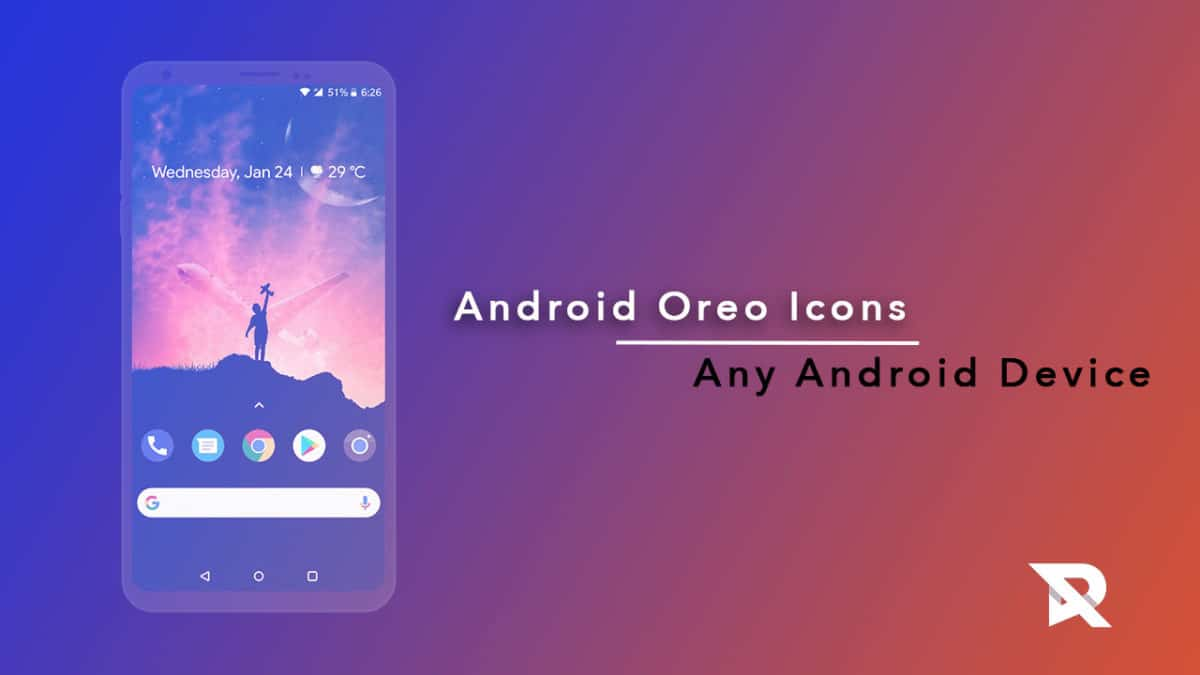 Get Android Oreo icons on any Android device