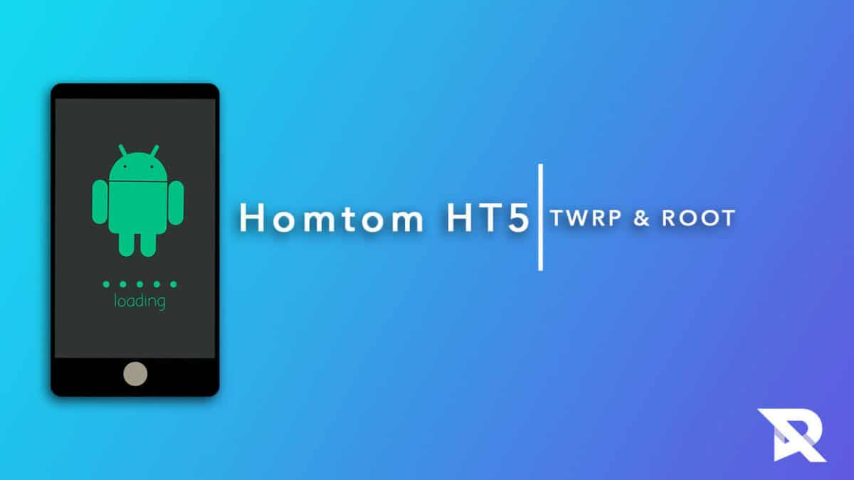 root Homtom HT5 and Install TWRP Recovery
