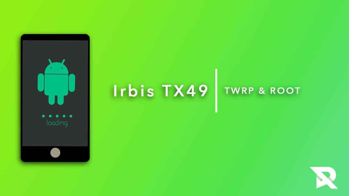 root Irbis TX49 and Install TWRP Recovery