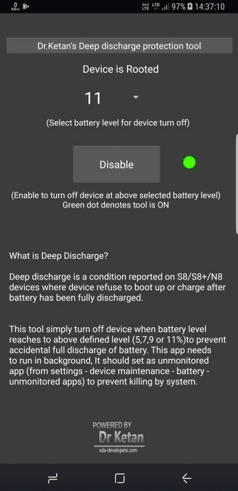 Fix Deep Discharge Issue On Samsung Galaxy Note 8