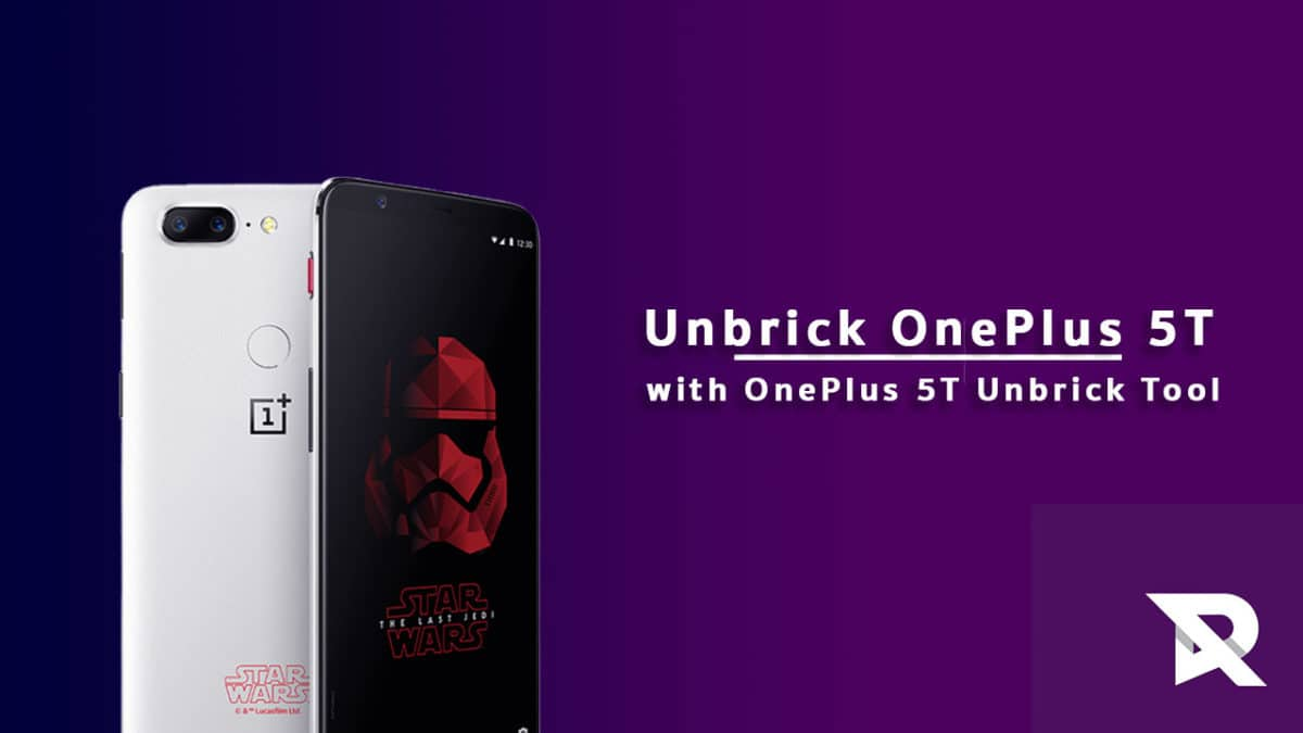 Unbrick OnePlus 5T with OnePlus 5T Unbrick Tool
