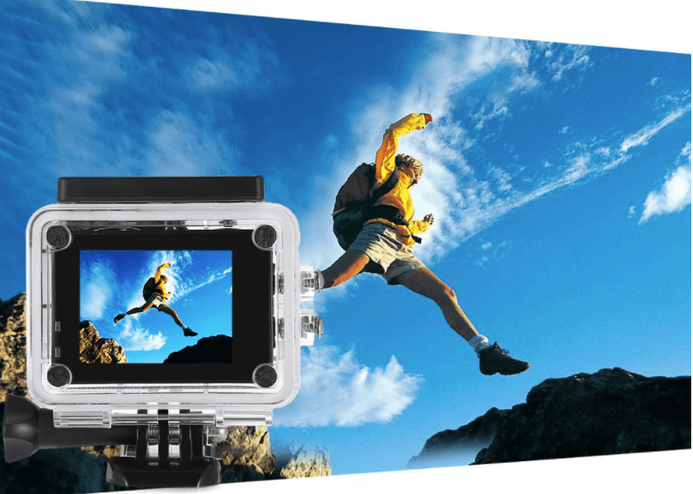 FuriBee Q6 WiFi 4K Action Cam Design
