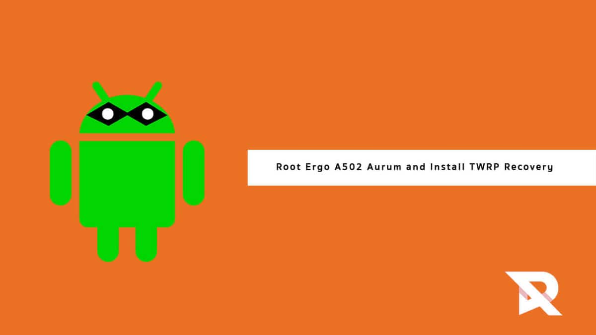 root Ergo A502 Aurum and Install TWRP Recovery