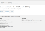 AT&T ZTE Axon M (B30) Z999V1.0.0B30 January 2018 Security Patch (OTA Update)