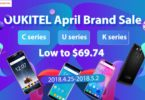 OUKITEL April brand sale