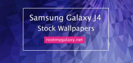 Download Samsung Galaxy J4 Stock Wallpapers In HD Quality