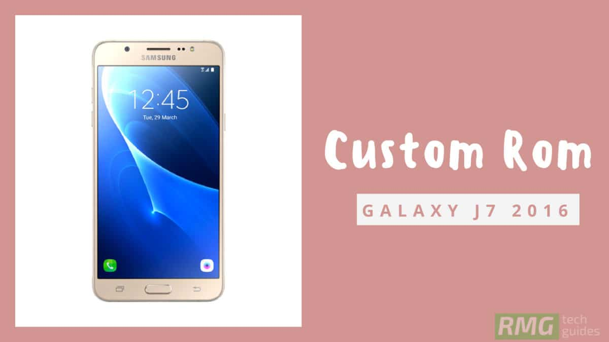 Install Resurrection Remix Oreo On Galaxy J7 2016 Android 81