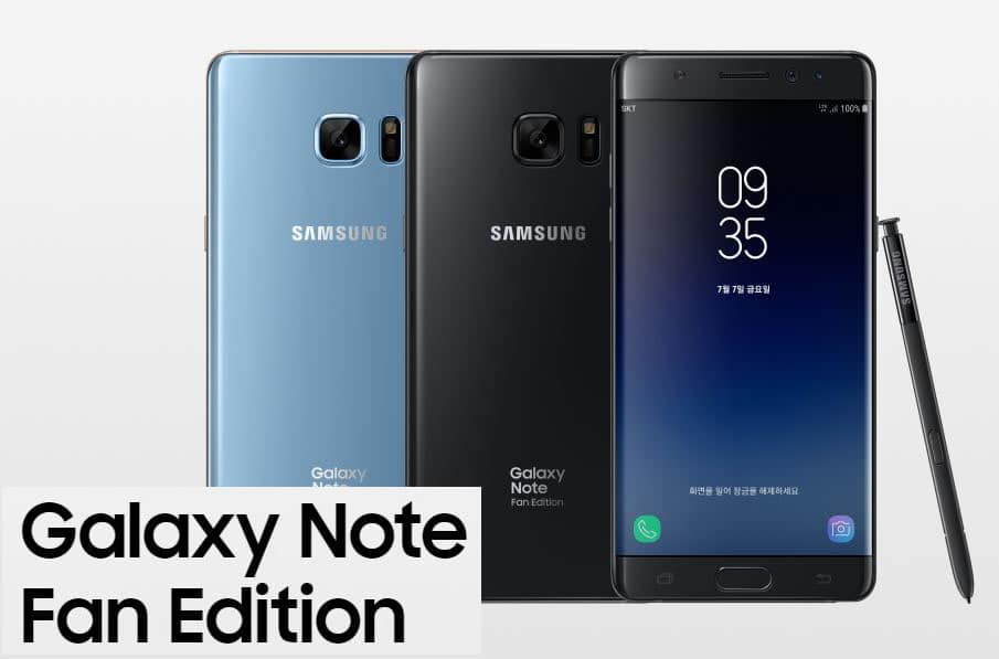 Download Galaxy Note FE N935FXXU2BRD4 Android 8.0 Oreo Update