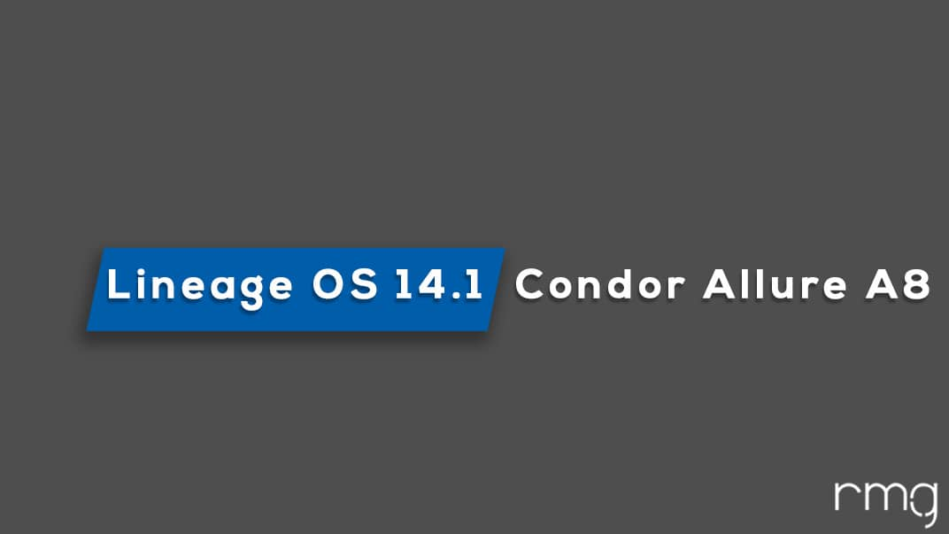 Download and Install Lineage OS 14.1 On Condor Allure A8