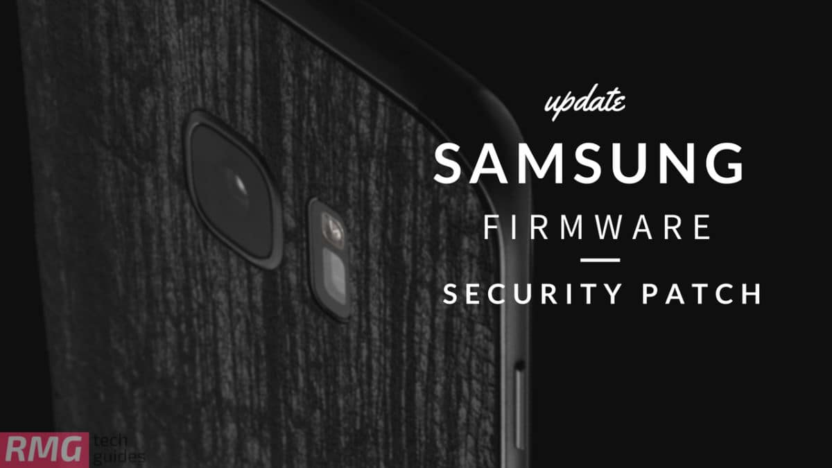 Firmware Update S8 Plus