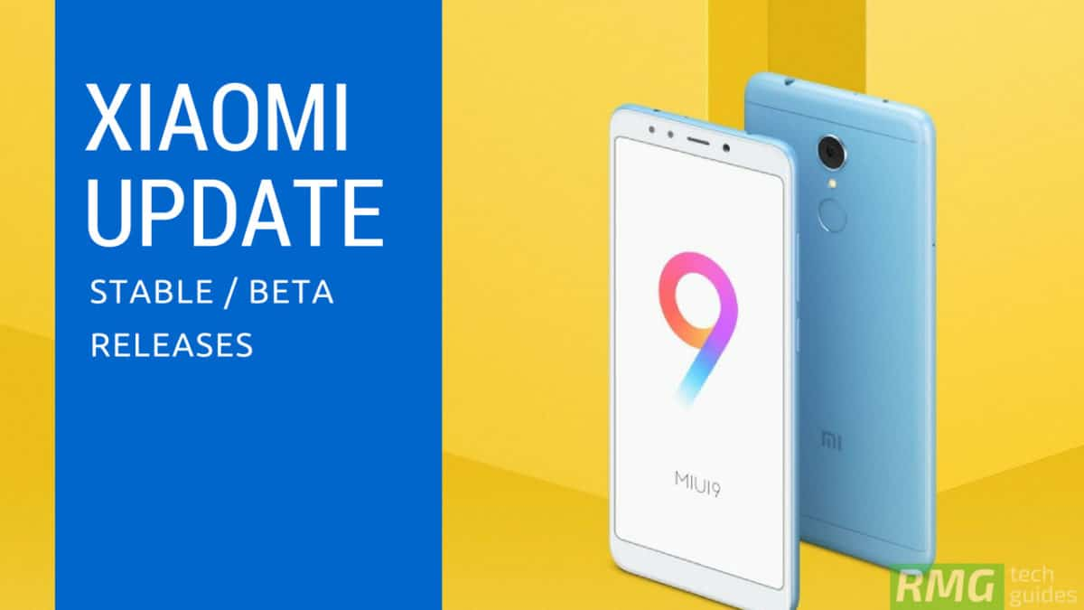 Download and Install Redmi 5 Plus MIUI 9 5 9 0 Global Stable ROM