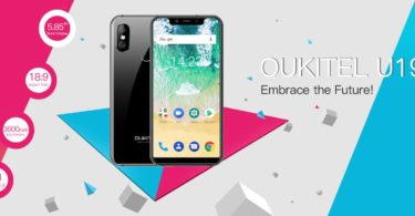 OUKITEL U19-a new iPhone X clone