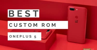 Download/Install Android 8.1 Oreo On OnePlus 5T With AOKP ROM
