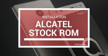 Download and Install Stock ROM On Alcatel Fierce XL [Official Firmware]