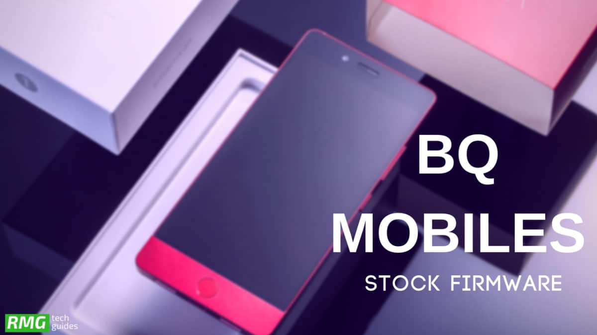 Download and Install Stock ROM On BQ 5516L [Official Firmware]
