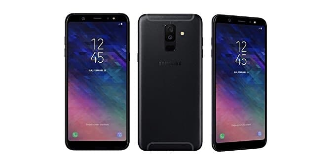Fix Black screen Problem on Galaxy A6 2018