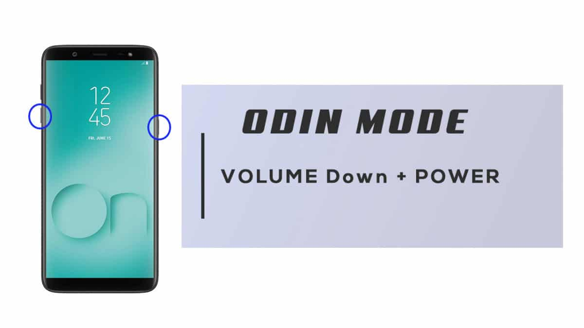 Enter Odin Mode On Samsung Galaxy On8 2018