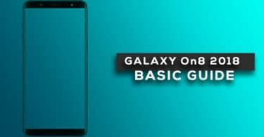 Enable Developer Option and USB Debugging On Galaxy On8 2018