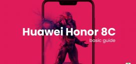 Hard reset/ Factory reset Huawei Honor 8C