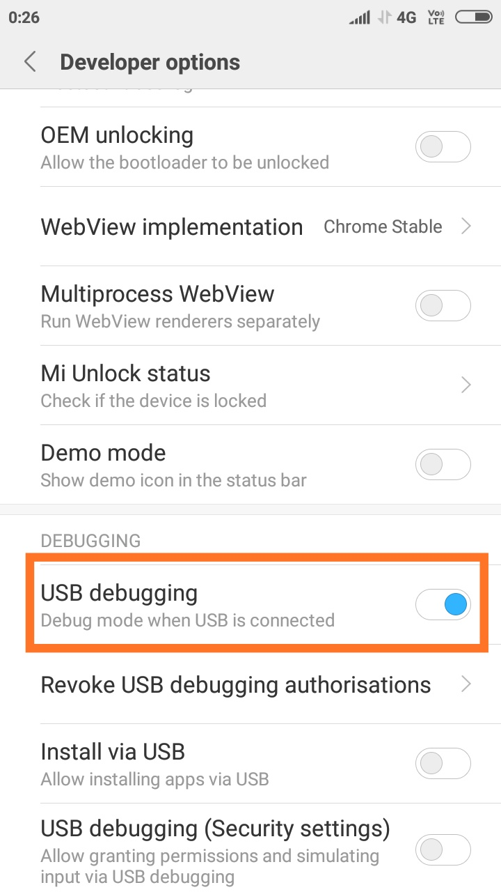 Enable Developer Option and USB Debugging On Redmi K20