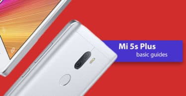 Find Xiaomi Mi 5s Plus IMEI Serial Number