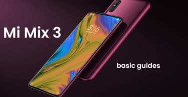Enable Developer Option and USB Debugging On Xiaomi Mi Mix 3