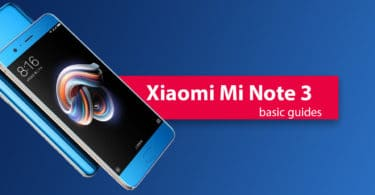 Find Xiaomi Mi Note 3 IMEI Serial Number