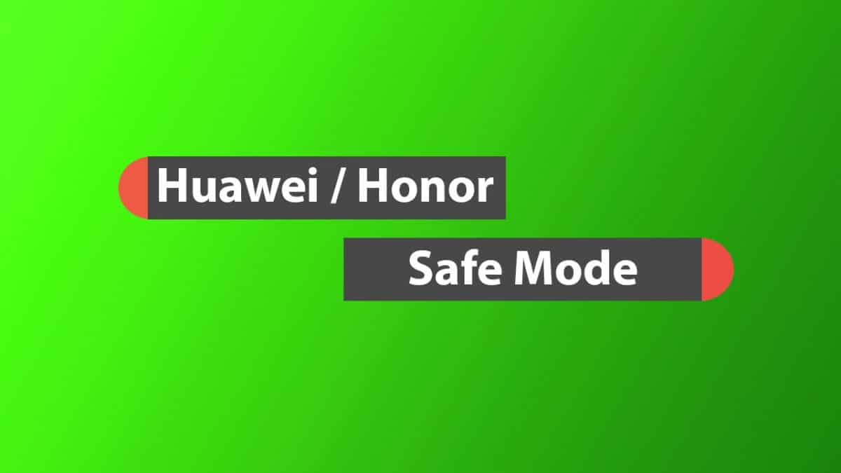 Boot into Safe Mode On Honor Magic 2