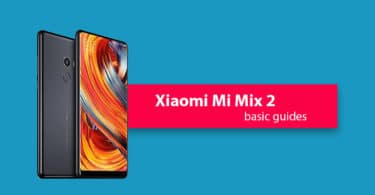 Reset Xiaomi Mi Mix 2 Network Settings