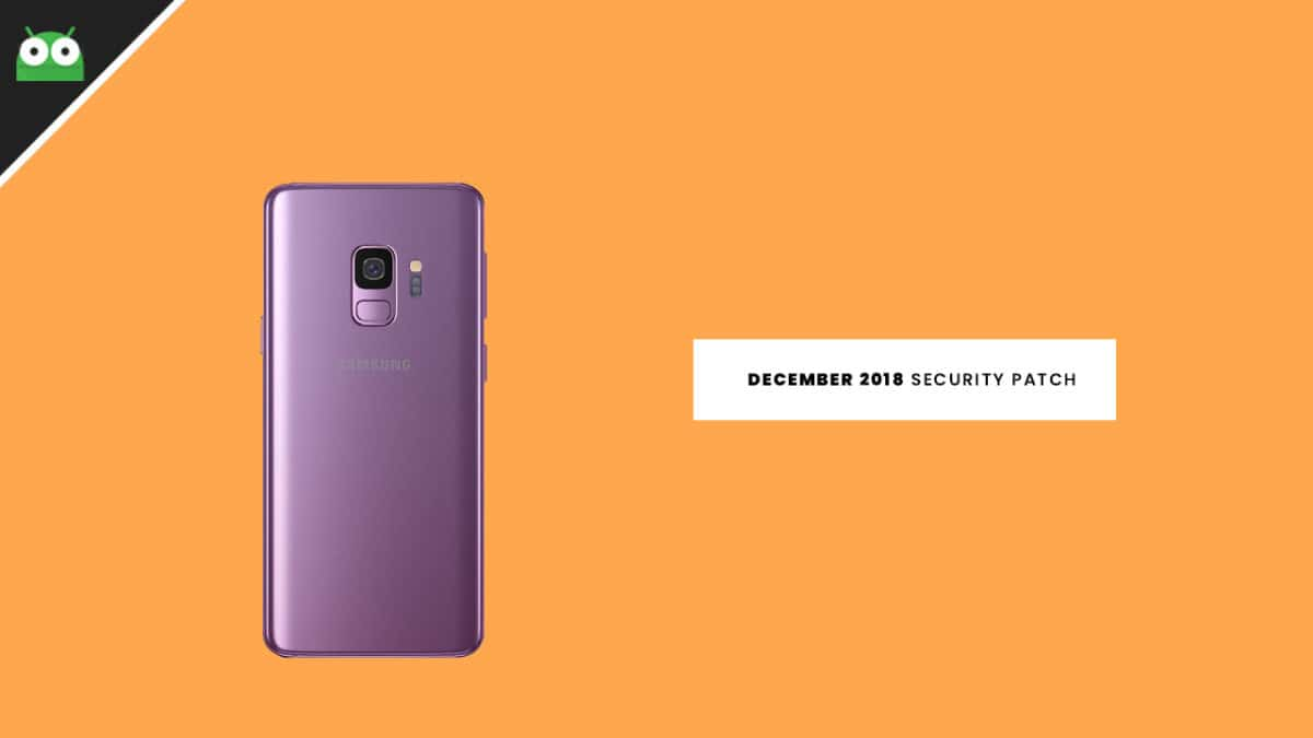 G965FXXU2BRL2: Download Galaxy S9 Plus December 2018 Security Patch