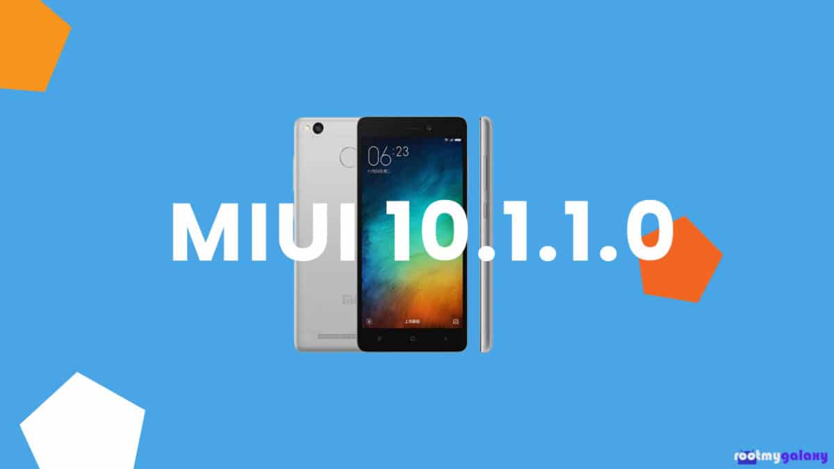 Download and Install Xiaomi Redmi 3S MIUI 10 1 1 0 Global Stable