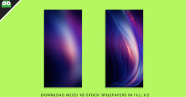 Download Meizu X8 Stock Wallpapers In Full HD