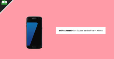 G930FXXS3ERL4: Download Galaxy S7 December 2018 Security Patch Update