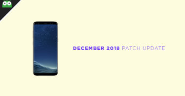 G950FXXU4CRL3: Download Galaxy S8 December 2018 Security Patch