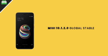 Download and Install Redmi 5A MIUI 10.1.2.0 Global Stable ROM