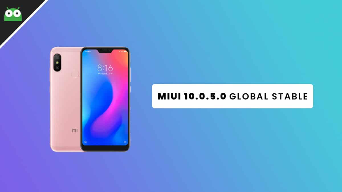 Download Redmi Note 6 Pro MIUI 10.0.5.0 Global Stable ROM