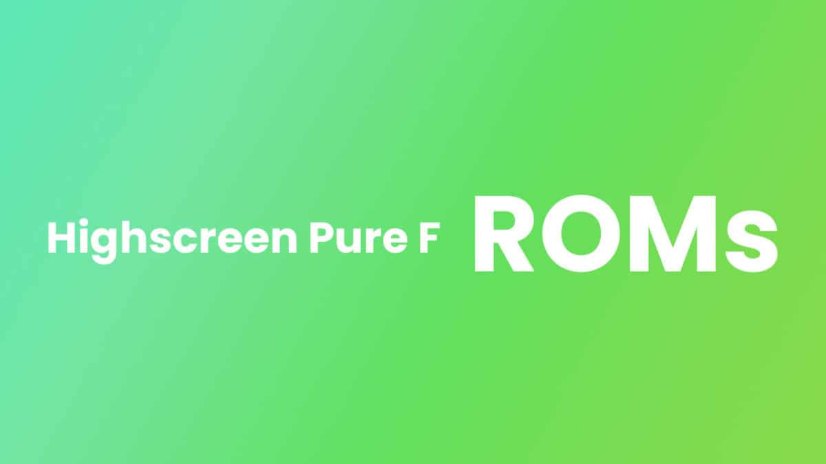 Install AICP OS ROM On Highscreen Pure F (Android 7.1.2 Nougat)