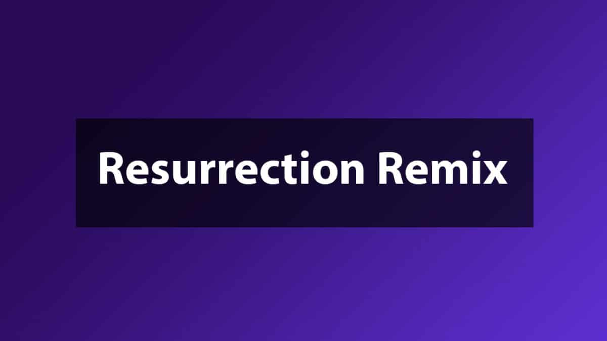 Download and Install Resurrection Remix for Oysters T72ER 3G (Android 7.1.2 Nougat)
