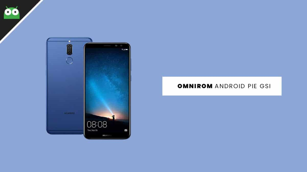 Update Huawei Nova 2i to Android 9.0 Pie With OmniROM
