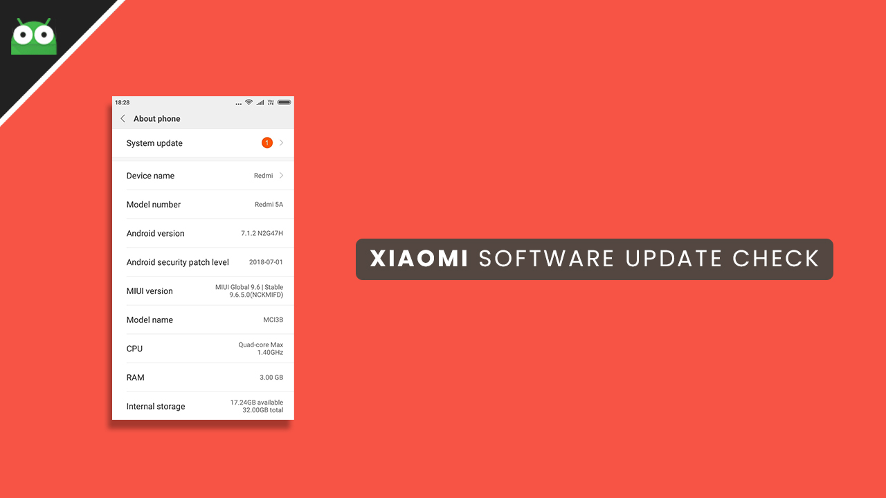 Download and Install Xiaomi Redmi 4 MIUI 10.1.1.0 Global Stable ROM