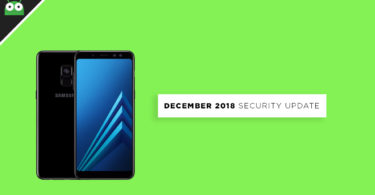 A530FXXU3BRL2: Download Galaxy A8 2018 December 2018 Security Patch Update