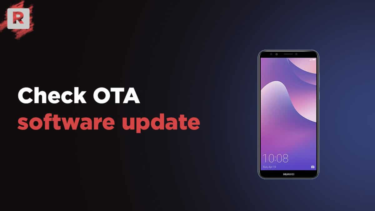 Check OTA Software Update On Huawei Y7 Pro (2019)