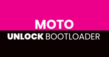Unlock Bootloader of Moto G4 Play