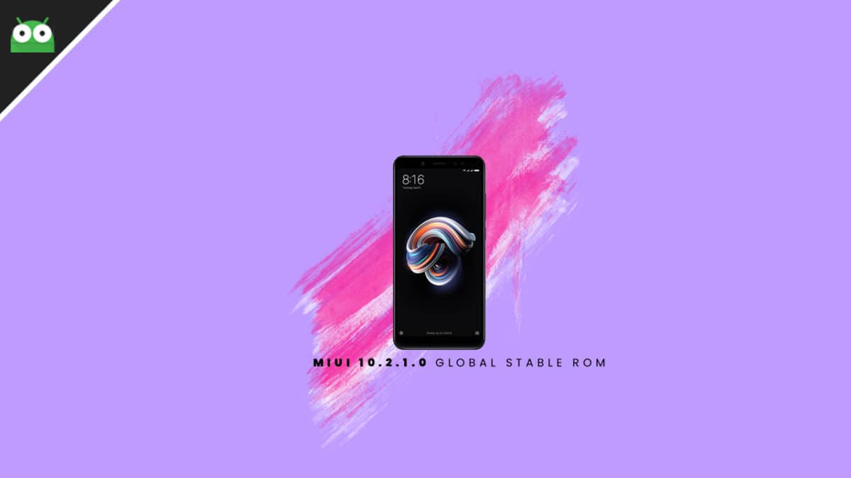 Download and Install Redmi Note 5 Pro MIUI 10.2.1.0 Global Stable ROM