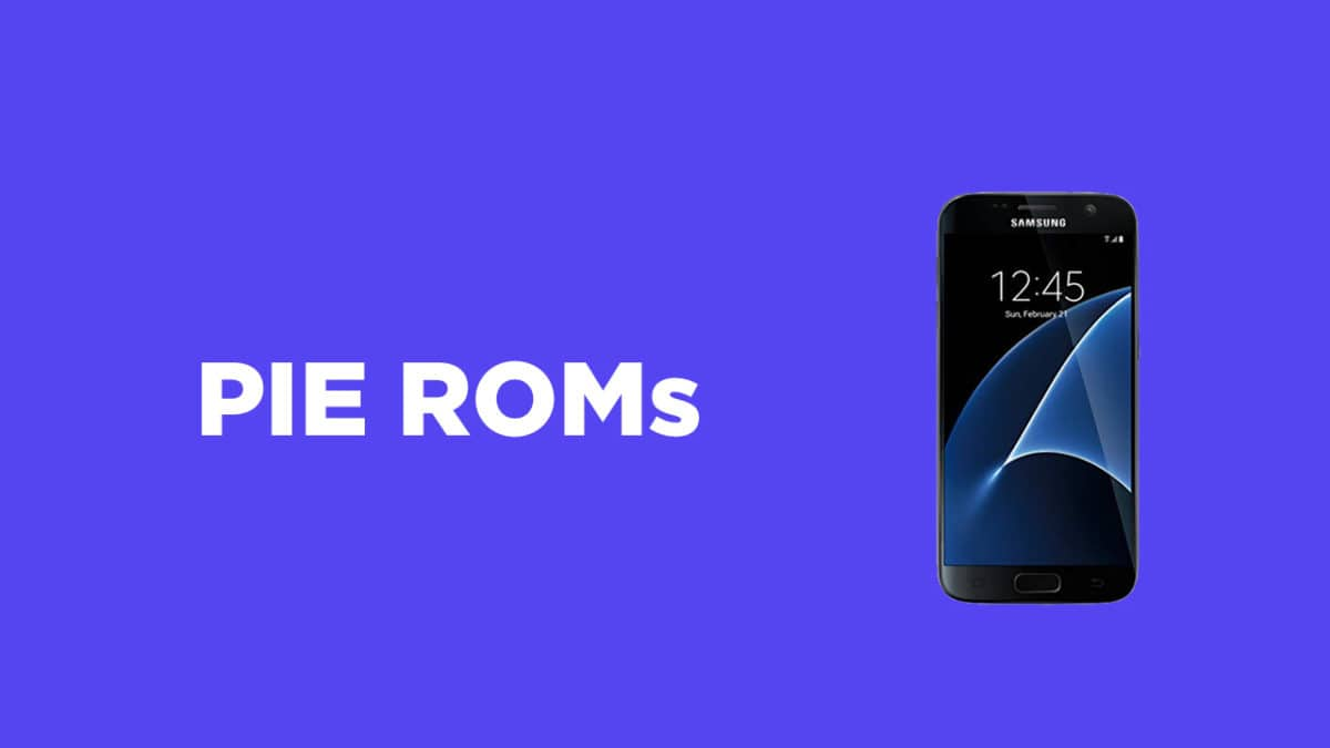 Samsung Galaxy S7 Android Pie