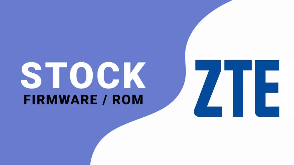 Install Stock ROM on ZTE T520 IN (Firmware/Unbrick/Unroot)