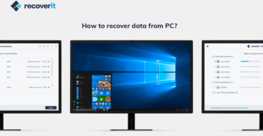 Recover Deleted Files with recoverit